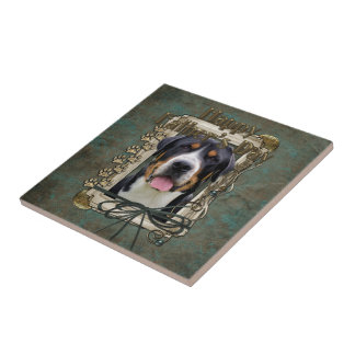Fathers Day - Stone Paws - Greater Swiss Mountain Tile