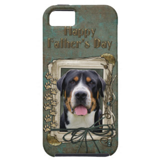 Fathers Day - Stone Paws - Greater Swiss Mountain Tough iPhone 5 Case