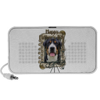Fathers Day - Stone Paws - Greater Swiss Mountain Travelling Speakers