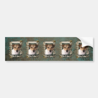 Fathers Day - Stone Paws - Jack Russell Bumper Stickers