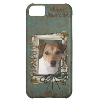 Fathers Day - Stone Paws - Jack Russell iPhone 5C Case