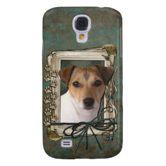 Fathers Day - Stone Paws - Jack Russell Galaxy S4 Cases