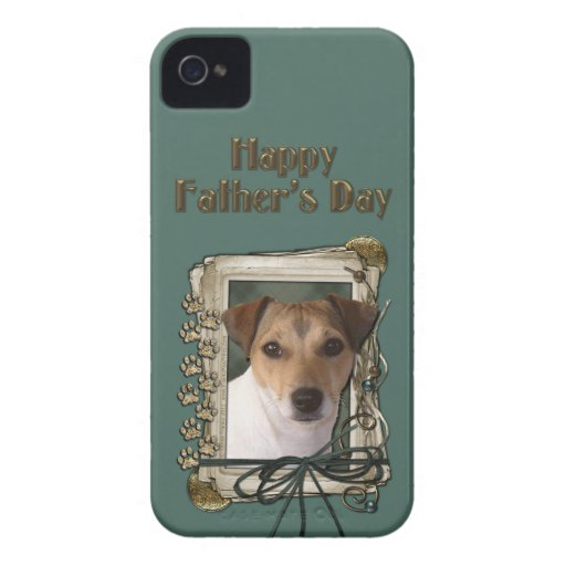 Fathers Day - Stone Paws - Jack Russell Blackberry Bold Cover