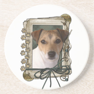 Fathers Day - Stone Paws - Jack Russell Drink Coasters