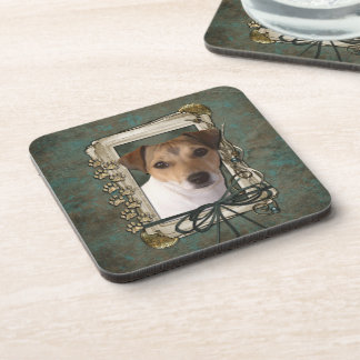 Fathers Day - Stone Paws - Jack Russell Coasters
