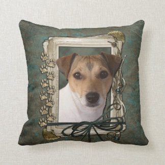 Fathers Day - Stone Paws - Jack Russell Pillows