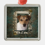 Fathers Day - Stone Paws - Jack Russell Christmas Ornaments