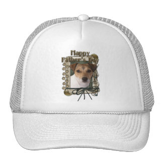 Fathers Day - Stone Paws - Jack Russell Trucker Hats