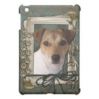 Fathers Day - Stone Paws - Jack Russell iPad Mini Cover