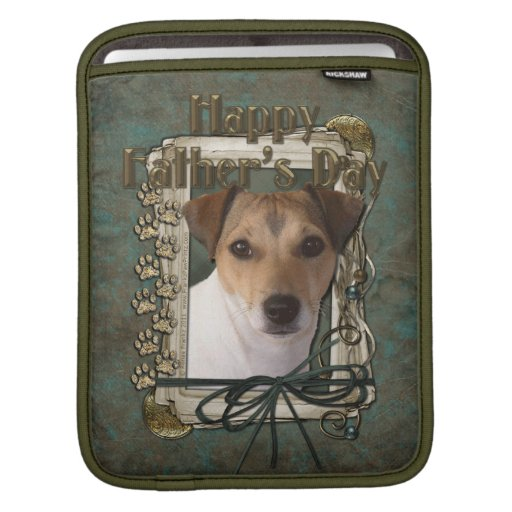 Fathers Day - Stone Paws - Jack Russell iPad Sleeves