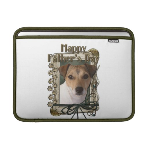 Fathers Day - Stone Paws - Jack Russell MacBook Air Sleeves