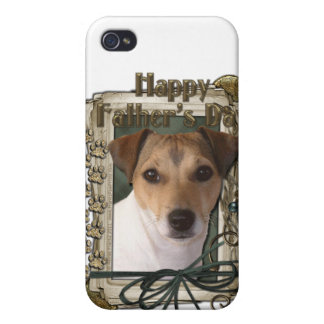 Fathers day - Stone Paws - Jack Russell iPhone 4/4S Case