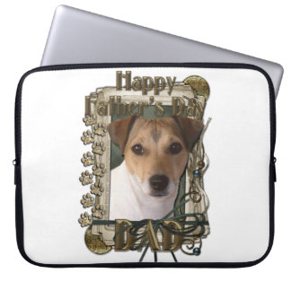 Fathers Day - Stone Paws - Jack Russell Laptop Computer Sleeves