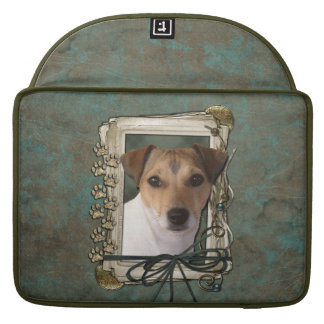 Fathers Day - Stone Paws - Jack Russell Sleeves For MacBooks
