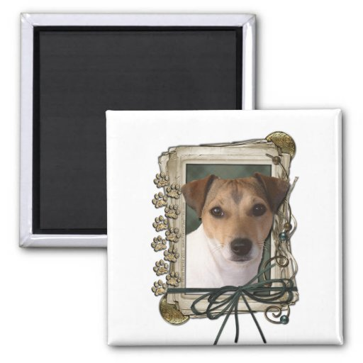 Fathers Day - Stone Paws - Jack Russell Fridge Magnets