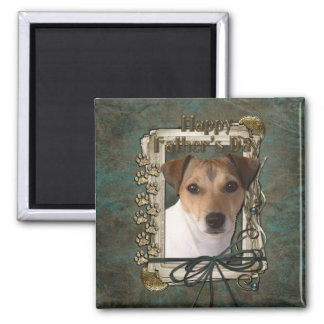 Fathers day - Stone Paws - Jack Russell Fridge Magnet