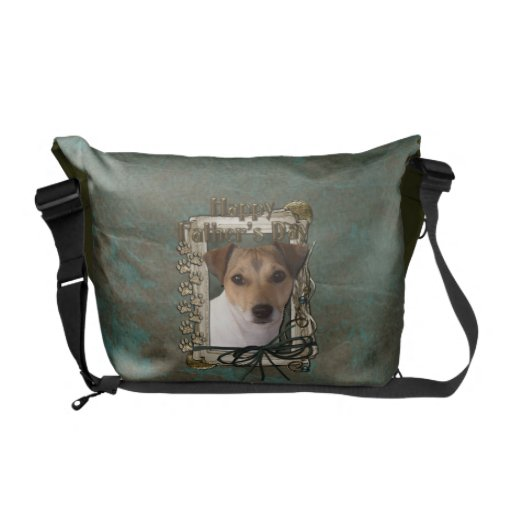 Fathers Day - Stone Paws - Jack Russell Commuter Bags