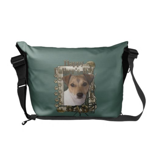 Fathers Day - Stone Paws - Jack Russell Commuter Bag