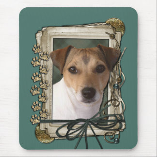 Fathers Day Stone Paws Jack Russell Mouse Pad