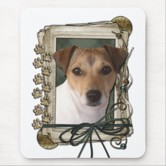 Fathers Day - Stone Paws - Jack Russell Mouse Pads