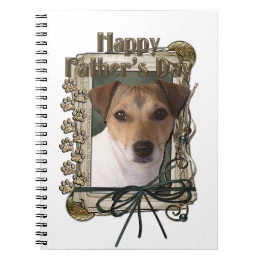 Fathers Day - Stone Paws - Jack Russell Notebooks