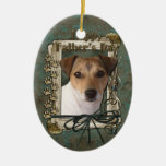 Fathers day - Stone Paws - Jack Russell Ornaments