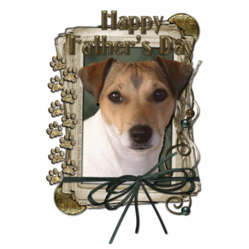 Fathers day - Stone Paws - Jack Russell Cut Outs