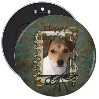 Fathers Day - Stone Paws - Jack Russell Pin