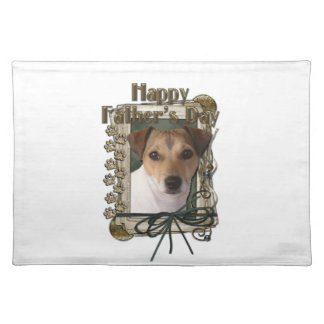 Fathers Day - Stone Paws - Jack Russell Place Mats
