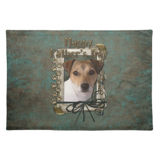 Fathers Day - Stone Paws - Jack Russell Placemat