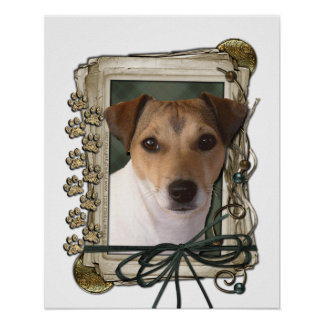Fathers Day - Stone Paws - Jack Russell Posters