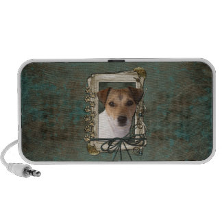 Fathers Day - Stone Paws - Jack Russell iPhone Speakers