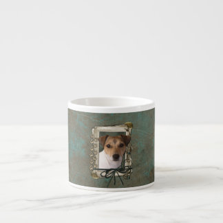 Fathers Day - Stone Paws - Jack Russell Espresso Mugs