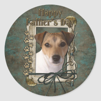 Fathers Day - Stone Paws - Jack Russell Stickers