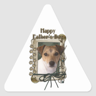 Fathers Day - Stone Paws - Jack Russell Sticker