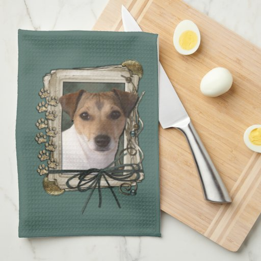 Fathers Day - Stone Paws - Jack Russell Towels