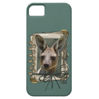 Fathers Day - Stone Paws - Kangaroo Barely There iPhone 5 Case