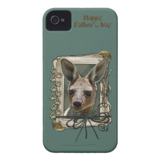 Fathers Day - Stone Paws - Kangaroo iPhone 4 Covers