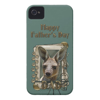 Fathers Day - Stone Paws - Kangaroo iPhone 4 Cover