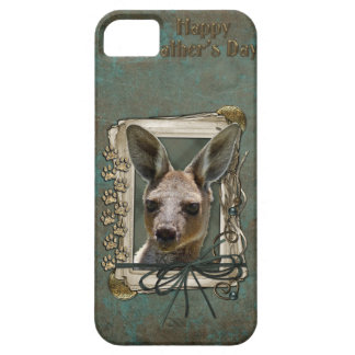 Fathers Day - Stone Paws - Kangaroo iPhone 5 Case