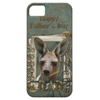 Fathers Day - Stone Paws - Kangaroo iPhone 5 Cases