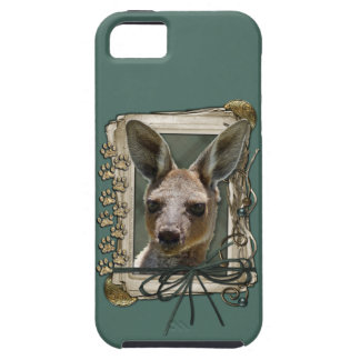 Fathers Day - Stone Paws - Kangaroo iPhone 5 Cover