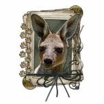 Fathers Day - Stone Paws - Kangaroo Photo Sculptures
