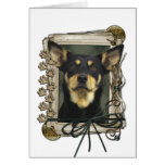 Fathers Day - Stone Paws - Kelpie - Jude Greeting Card