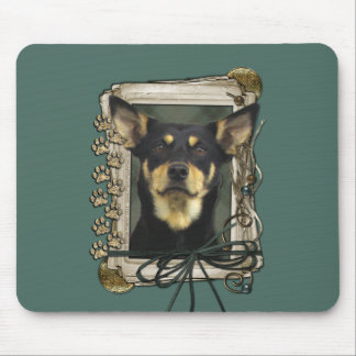 Fathers Day - Stone Paws - Kelpie - Jude Mouse Pad