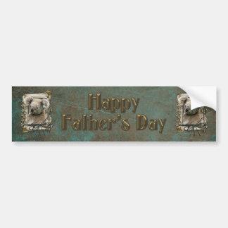 Fathers Day - Stone Paws - Koala Bumper Sticker