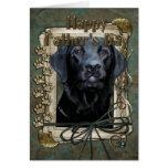 Fathers Day - Stone Paws - Labrador - Black -