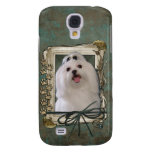 Fathers Day - Stone Paws - Maltese Samsung Galaxy S4 Case
