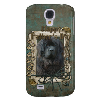 Fathers Day - Stone Paws - Newfoundland Galaxy S4 Case