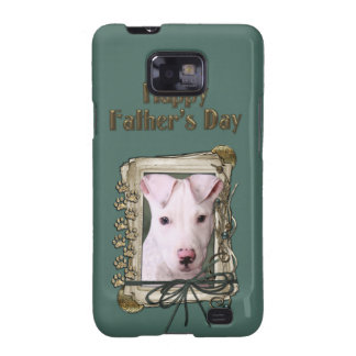 Fathers Day - Stone Paws - Pitbull Puppy Samsung Galaxy S2 Cover